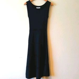 Sandro knit fit and flare dress